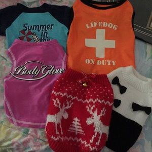 Other - Lot of 5 pet apparel